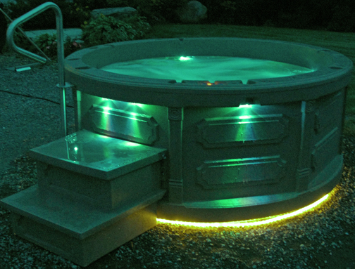 ROTOSPA portable hot tubs