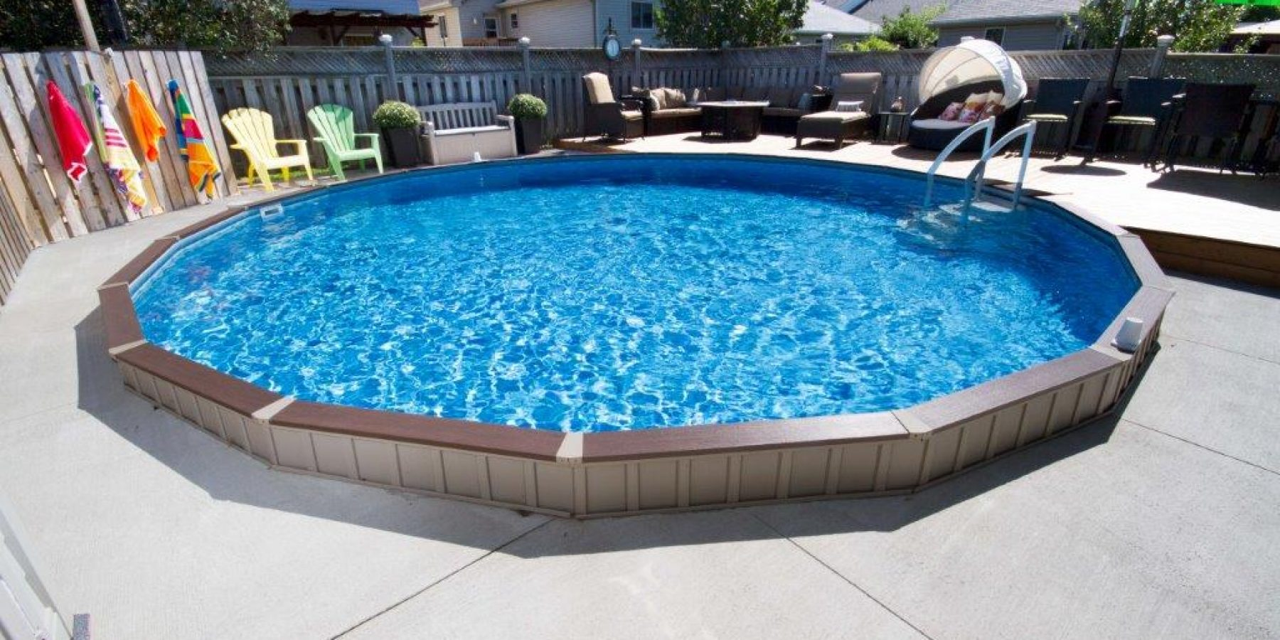 On Ground Pools  View Our Gallery
